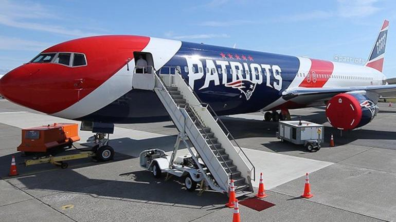 Look Patriots Show Off The Inside Of Their New Team Plane For The