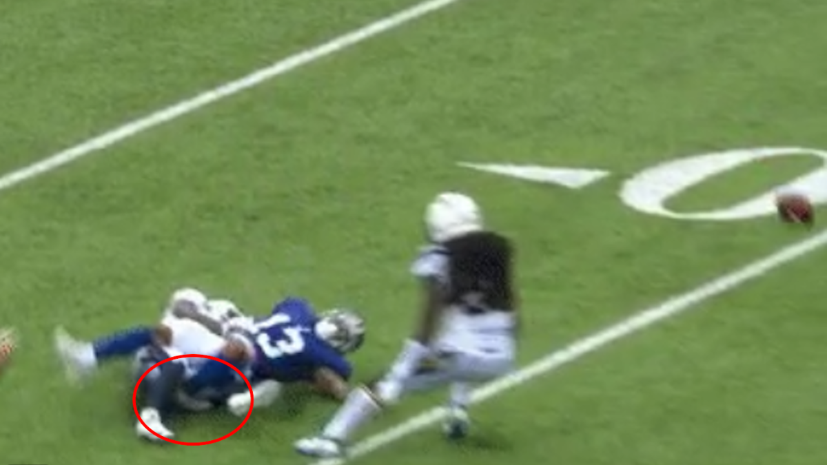 4b6d9d35 Odell Beckham fractures ankle on gruesome injury, could require ...