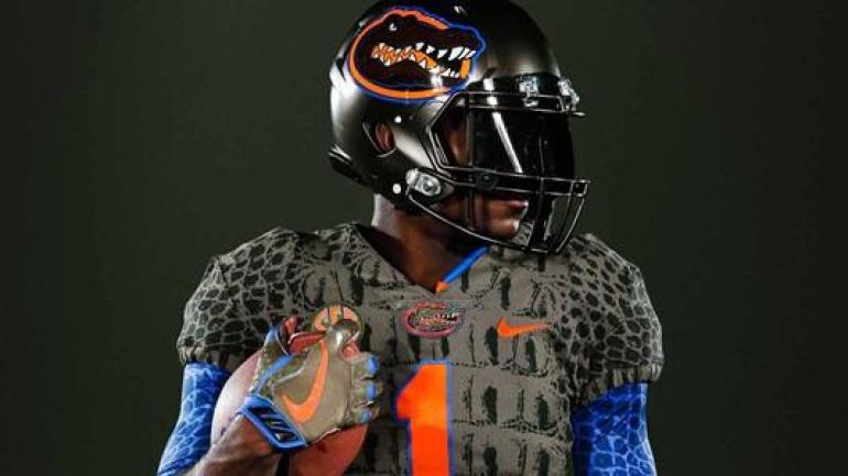 7faed53ff LOOK  Florida will wear green uniforms for the first time ever vs. Texas  A M - CBSSports.com