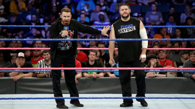 WWE SmackDown results, recap: Sami Zayn explains himself, Baron Corbin looks strong