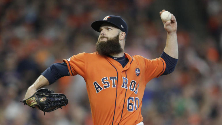 Astros will start Dallas Keuchel in Game 1, Justin Verlander in Game 2 of ALCS