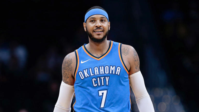 NBA free agency 2018: Rockets and Heat will be 'premium consideration' for Carmelo Anthony