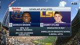 Scholar Athletes: Auburn DL Derrick Brown & LSU QB Danny Etling