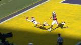 WATCH: Russell Gage snags wild catch for LSU TD