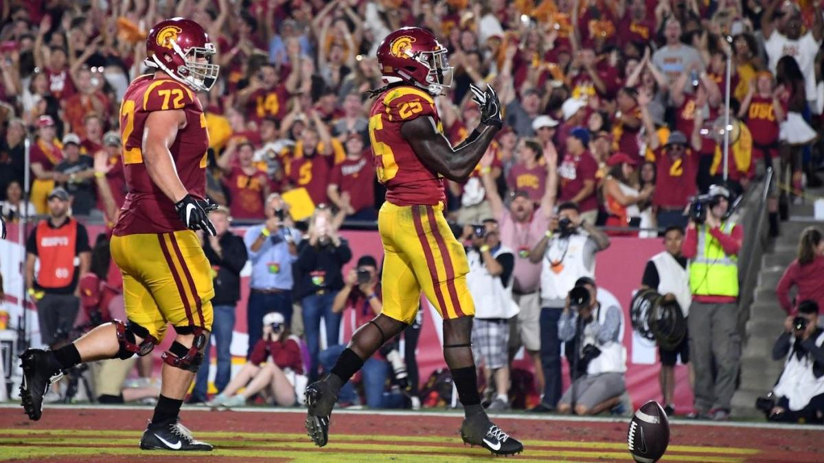 Usc Vs Utah Score Trojans Hold On With Defensive Stand On Two Point Attempt Cbssports Com