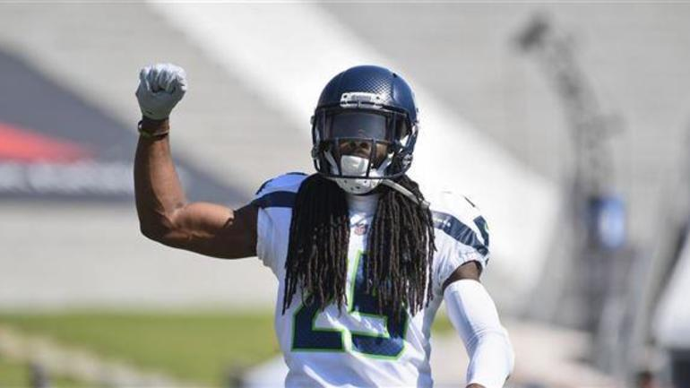 a614a9049 Seattle Seahawks will wear special wolf grey uniforms on Sunday vs the  Giants.