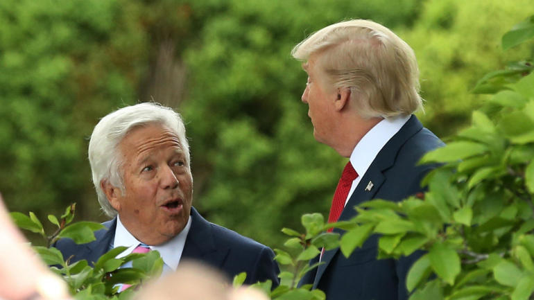 Robert-kraft-donald-trump