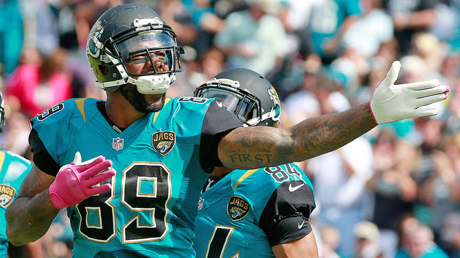 e4e7c8dee marcedes-lewis.jpg. The Jaguars last wore their teals in 2013 against the  Chargers. Getty Images. Jacksonville has announced they re ...