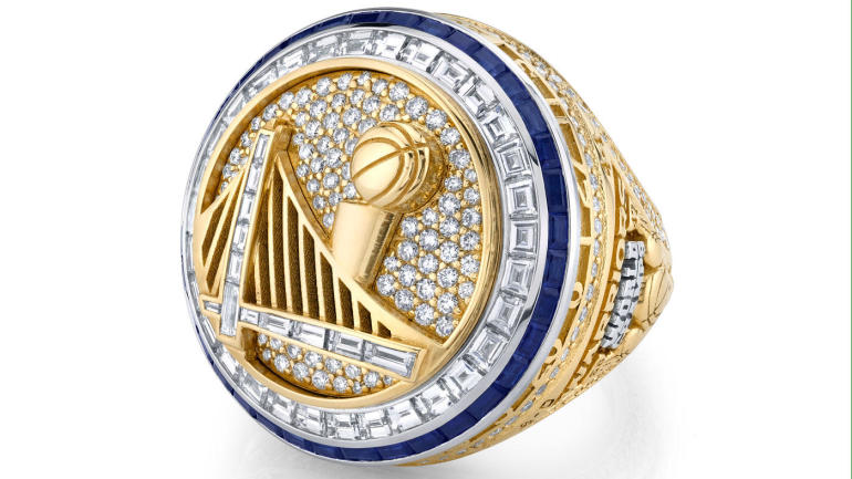 LOOK: Warriors championship ring leads all other major sports when it comes to bling