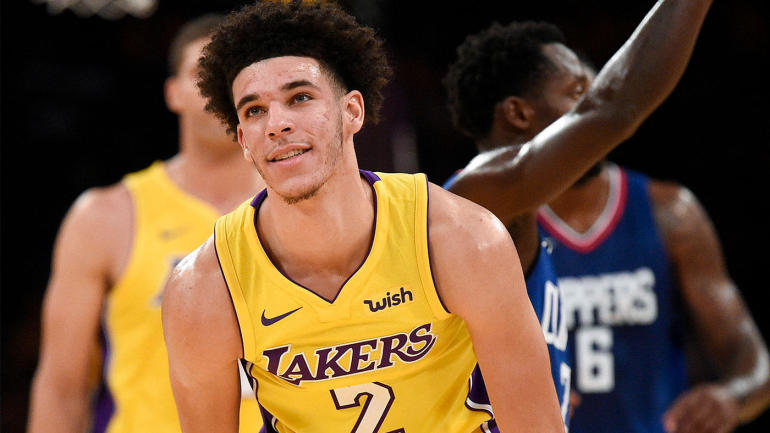 Lonzo Ball struggles in debut as Lakers get blown out by ...