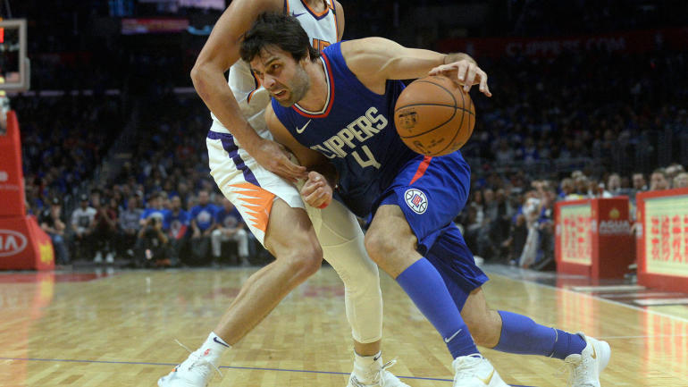 Clippers' Milos Teodosic will undergo an MRI on foot to determine severity of injury