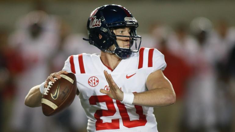 Ole Miss star QB Shea Patterson out for the season with a knee injury