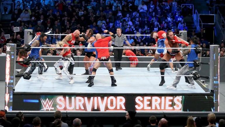 wwe survivor series 2017 matches card start time date location