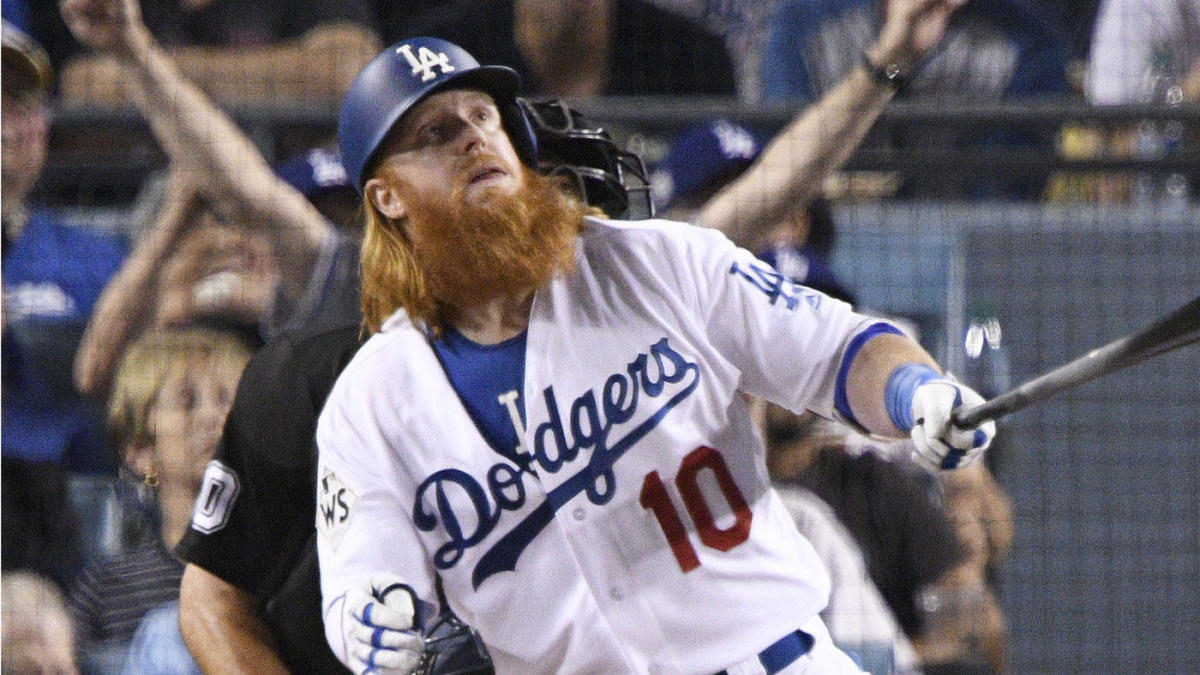 hot sale online 3662a 4d240 Astros vs. Dodgers: The Justin Turner at-bat that may have ...