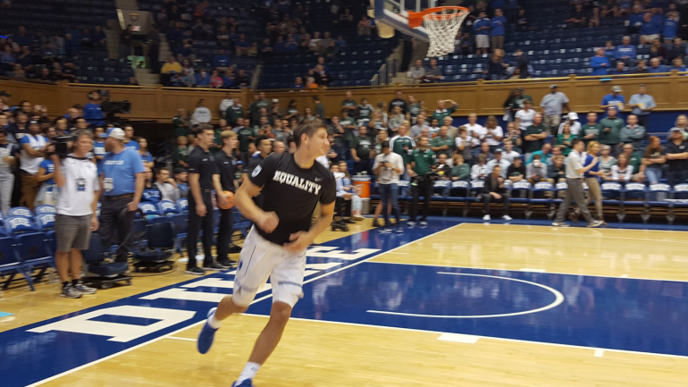 Look Duke Basketball Players Wear Equality T Shirts For