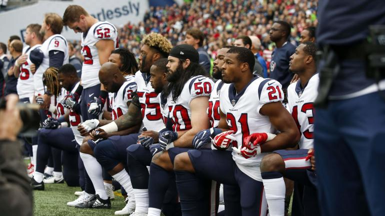Twitter reacts to NFL's new policy requiring players to 'respect' national anthem