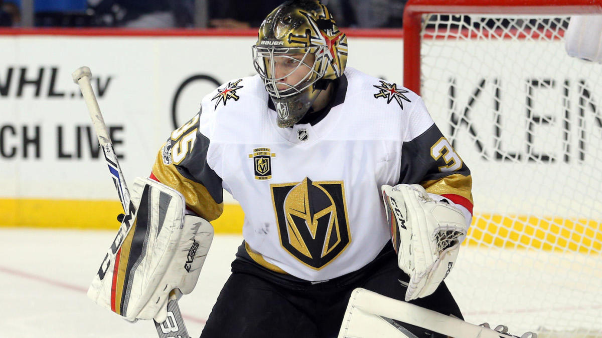 Vegas Golden Knights Goaltenders Just Can T Stop Getting Injured