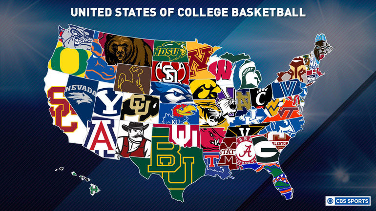 Where every college basketball team ranks in each state - CBSSports com