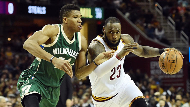 NBA games Tuesday, scores, highlights, updates: LeBron, Giannis battle in Cleveland