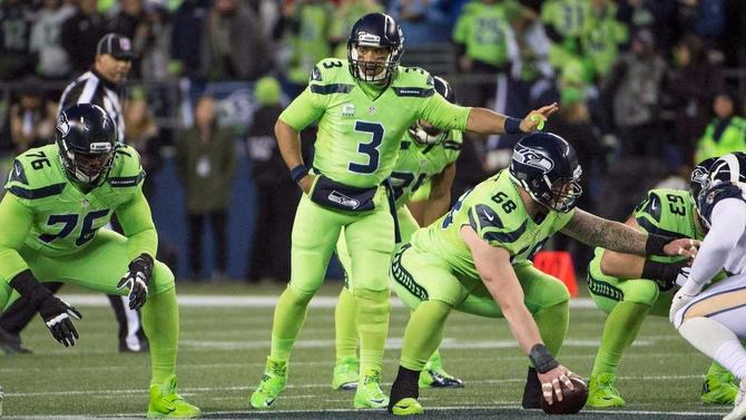 Color Rush  Here s what Seahawks and Cardinals will be wearing on ... 5429b65d3