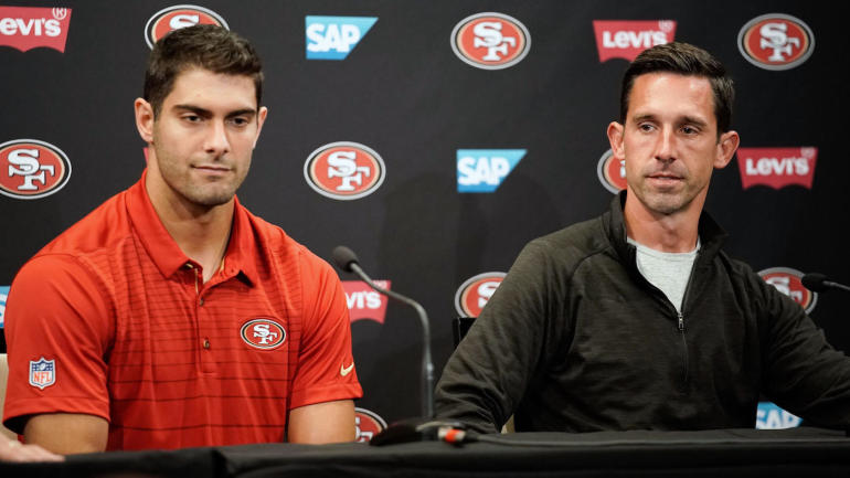 Even Kyle Shanahans Wife Wants To Know When Jimmy Garoppolo Will Play For 49ers