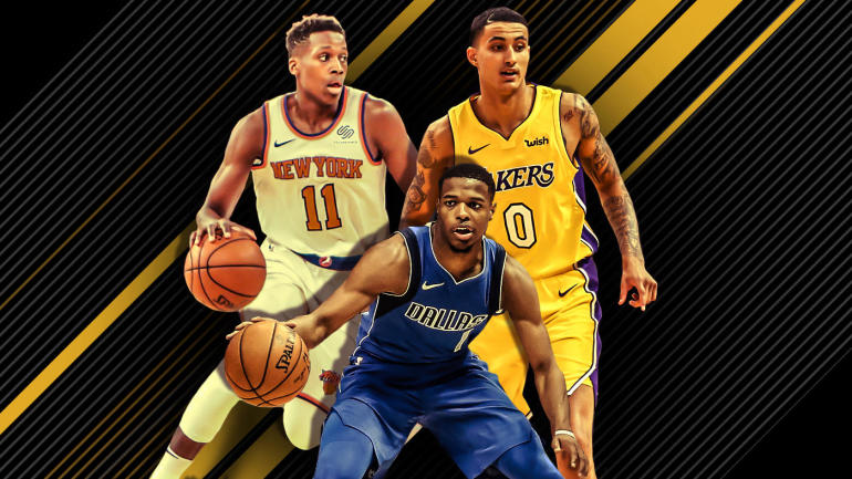NBA Rookie Power Rankings  Point guards shoot past lackluster Lonzo  Tatum  rising - CBSSports.com a0ad09cbd