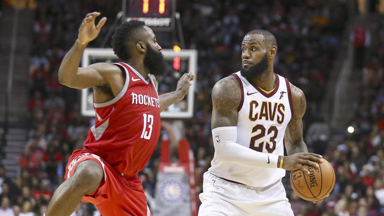 36b383844ae9 2017-18 NBA MVP finalists  James Harden