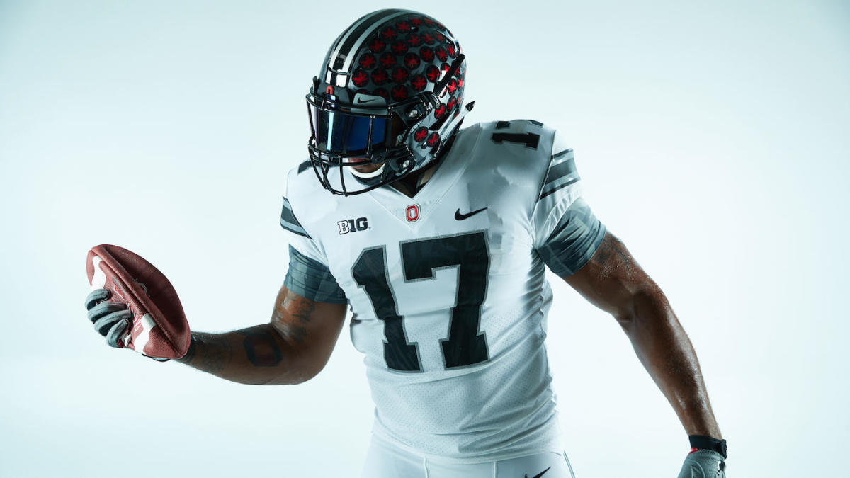 3bfc5e91338 LOOK: Ohio State going with all-white alternate uniforms for Michigan game  - CBSSports.com