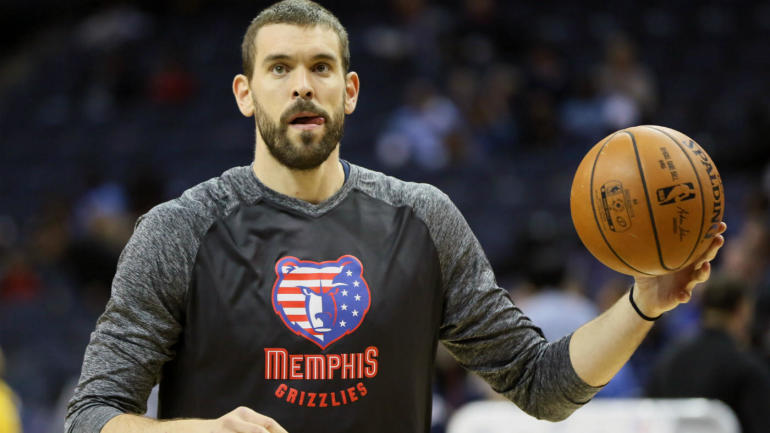 WATCH: Marc Gasol gets technical for kicking Clint Capela