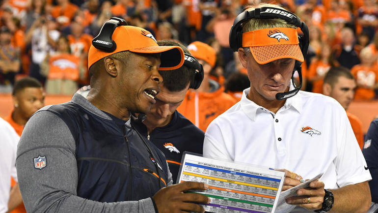 Broncos fire offensive coordinator Mike McCoy after 10 games, six straight losses