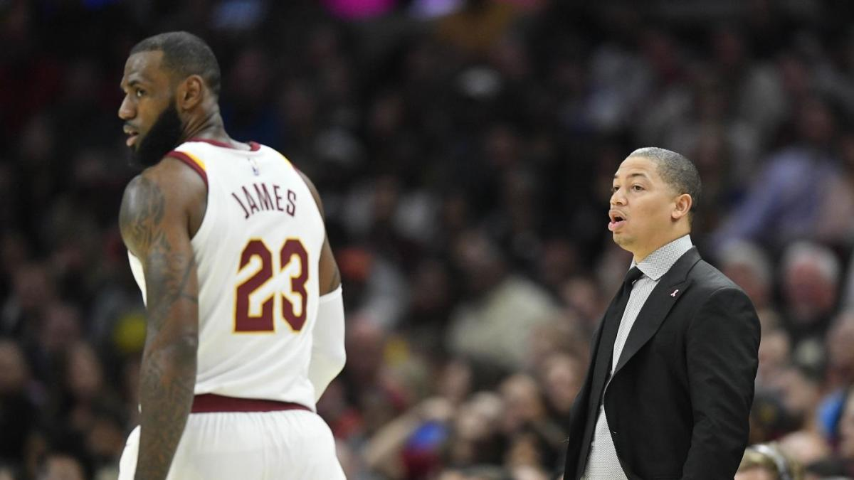 LeBron James and Tyronn Lue are tired