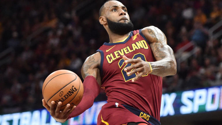 NBA games Monday, scores, highlights, updates: LeBron ...