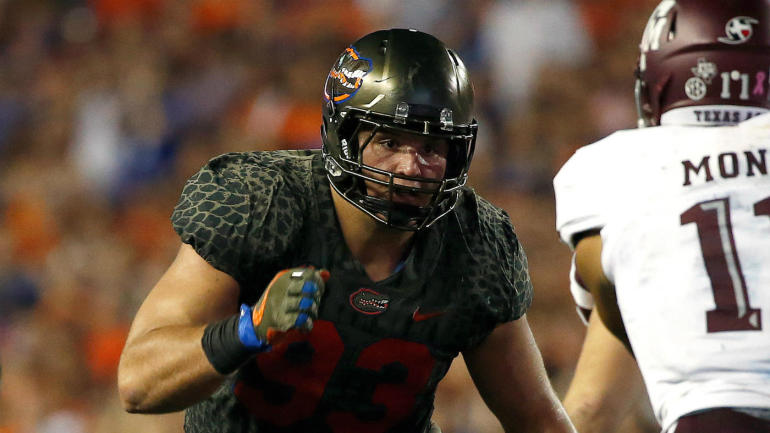 5f17b6c10 2018 NFL Draft Prospect Rankings  Florida s Taven Bryan has some J.J. Watt  to his game - CBSSports.com
