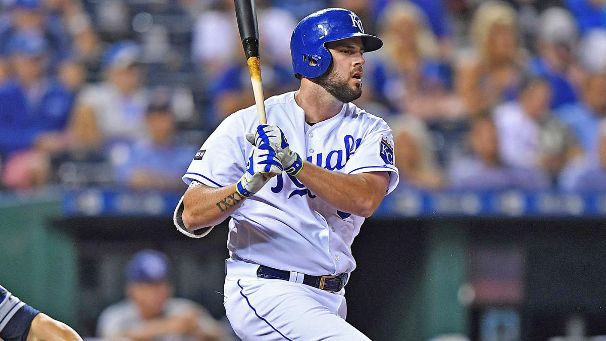 super popular 752fb b7ab7 MLB trades: Brewers add Mike Moustakas in three-player trade ...
