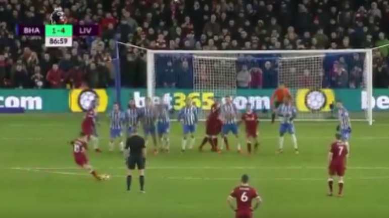 Watch Liverpool Star Coutinho Scores Ronaldinho Like Free