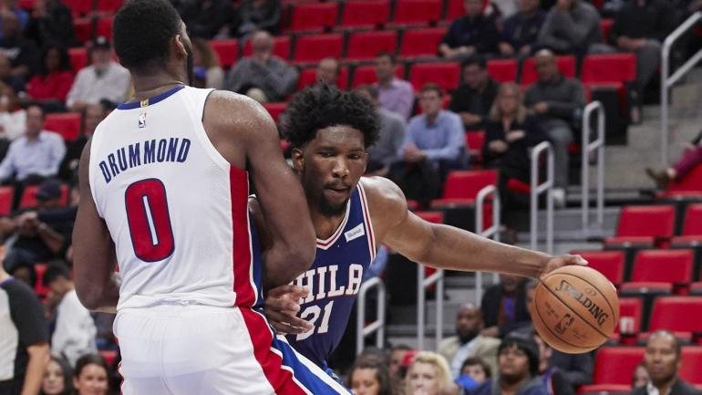 NBA games Saturday, scores, highlights: Feuding Embiid, Drummond set for rematch
