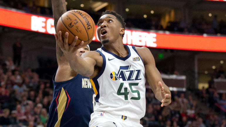 d972445db Donovan Mitchell surprised even himself to become the Jazz s unlikely rookie  savior - CBSSports.com