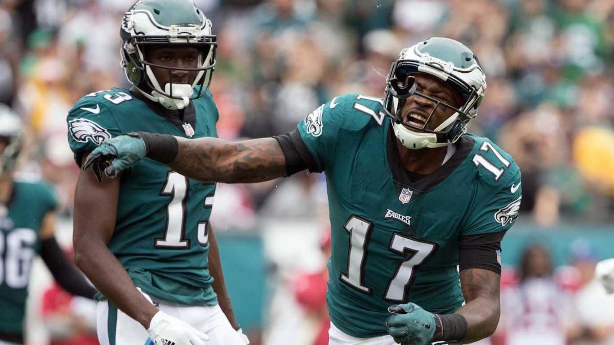 Eagles opt to keep only three receivers active vs. Redskins after Nelson Agholor ruled out