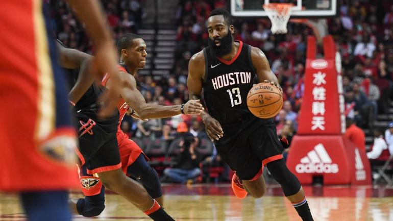 NBA games Monday, scores, highlights, news: Rockets win 10th in row behind James Harden