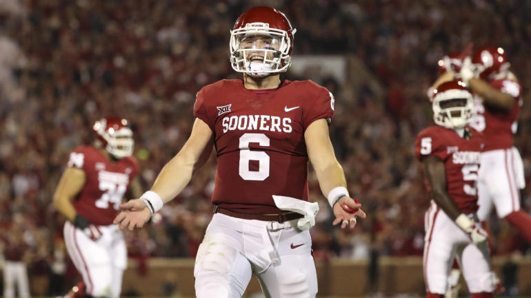 2018 NFL Mock Draft: Browns take Baker Mayfield No. 1 ...