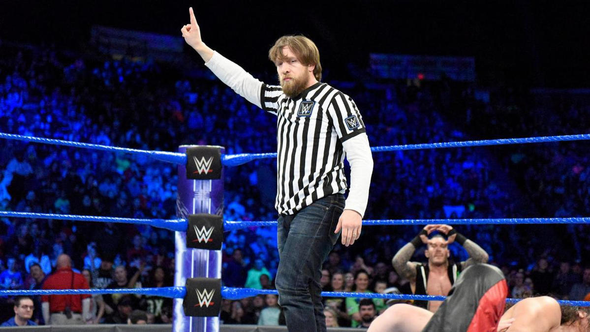 premium selection 0b066 84eed WWE SmackDown results, recap  Daniel Bryan returns to the ring ... as a  referee - CBSSports.com
