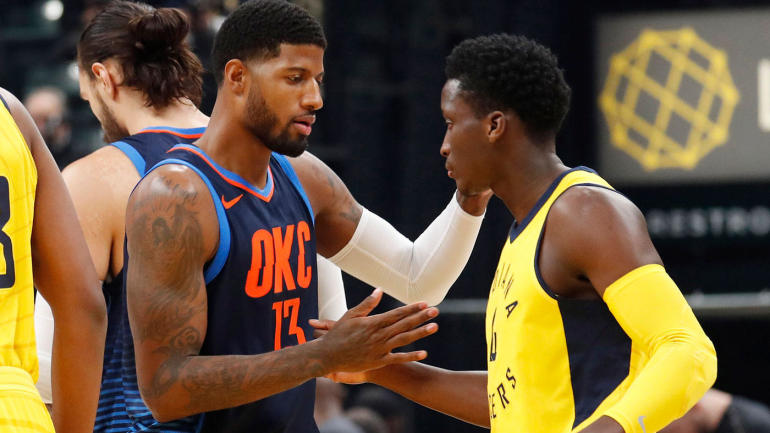 NBA games Wednesday, scores, highlights, updates: Paul George returns to Indiana