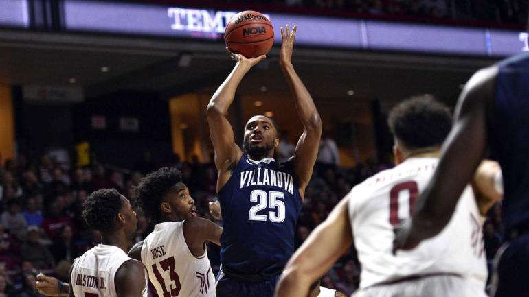 College basketball rankings: No. 1 Villanova is rolling and has easy road ahead