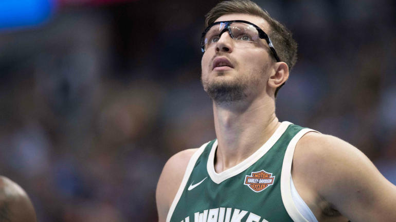Bucks' Mirza Teletovic sidelined for second time in career with blood clots in lungs