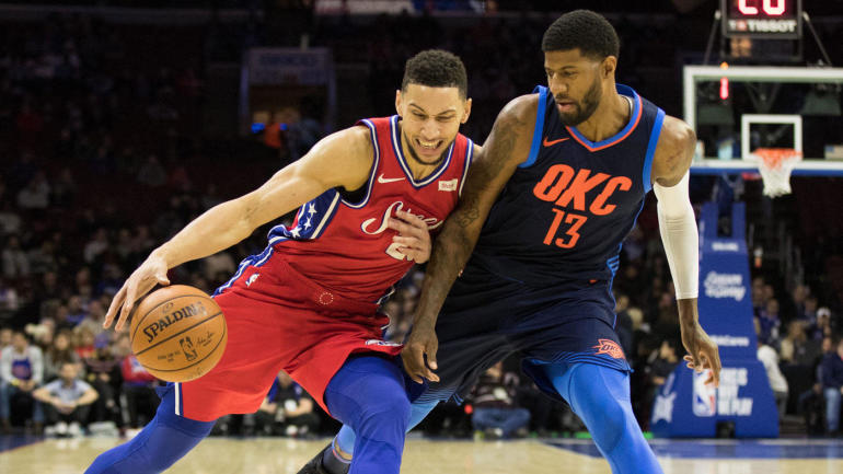 NBA games Friday, scores, highlights, updates: Westbrook, Thunder face Embiid, 76ers
