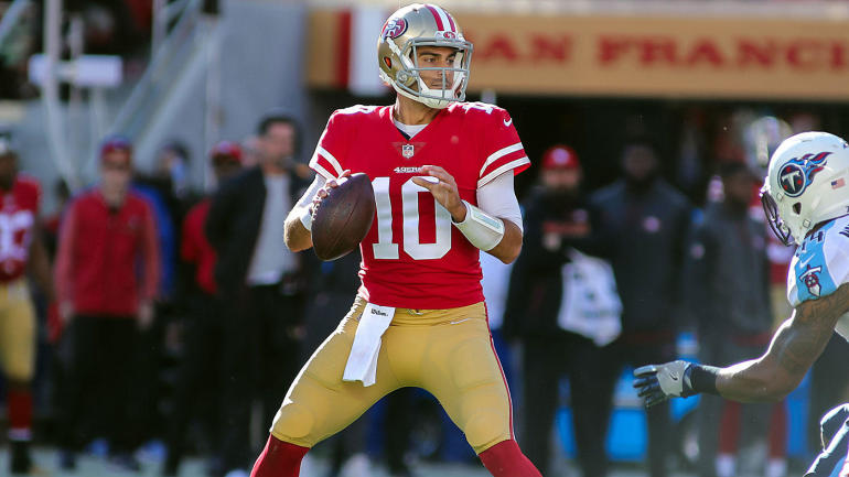 NFL games today, Week 15 scores, updates, schedule: Garoppolo, 49ers edge Titans