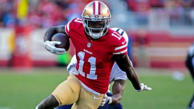 2b84eaf8d52 San Francisco 49ers give contract extension to Marquise Goodwin ...