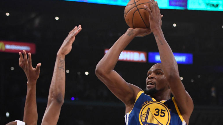 NBA games Monday, scores, highlights: Durant beats Lakers in OT on Kobe's night