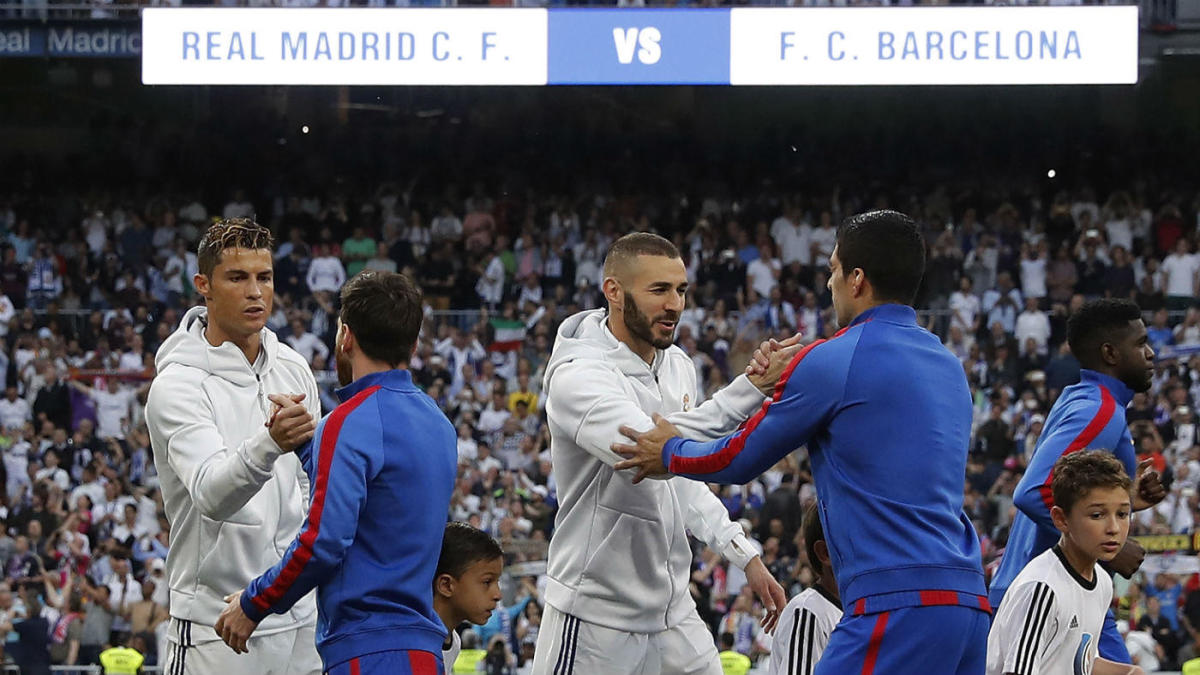 Real Madrid Vs Barcelona 11 1 Highlights