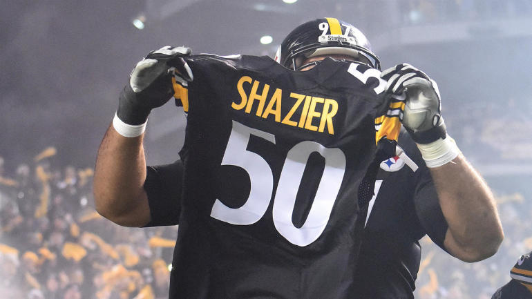 Ryan Shazier returns to Steelers practice in wheelchair, brings 'joy to everybody'